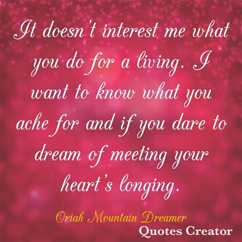 Image result for oriah mountain dreamer  quotes